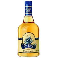 botella de tequila 100 años