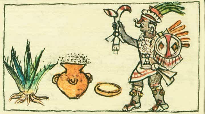 comienzo de pulque en tiempos prehispánicos
