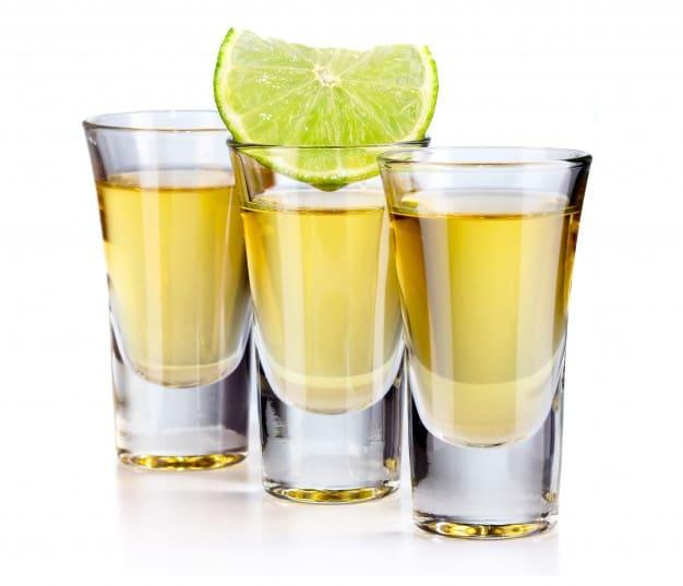 caballitos con tequila