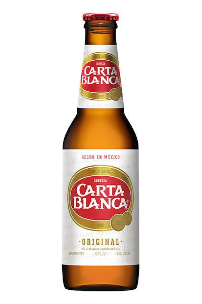 cerveza carta blanca