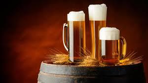 cervezas espumosas de barril