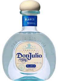botella de don julio blanco