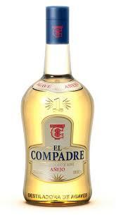 botella de tequila el compadre