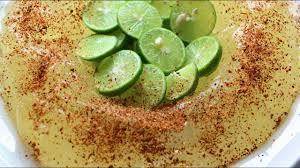 vista de gelatina con tequila