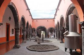 pasillo del museo nacional del tequila