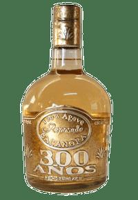 botella de bacanora 300 años