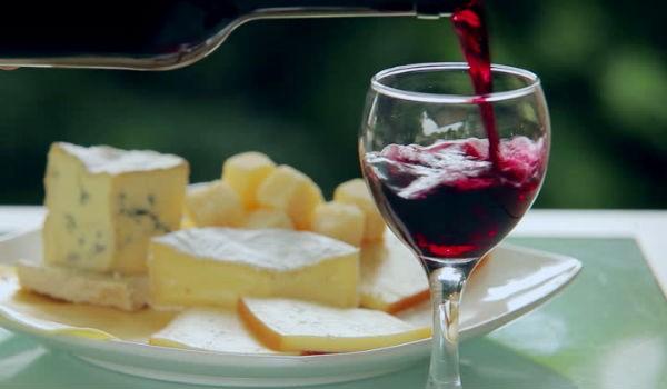queso y vino excelente combinación