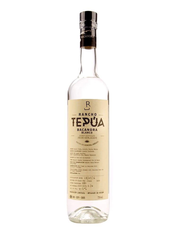 botella de bacanora rancho tepúa