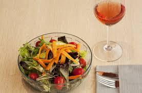tipo de vino para ensaladas