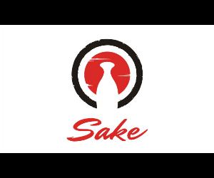 logotipo sake japonés