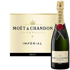 botella de champagne Moet & Chandon