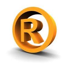 emblema de marca registrada