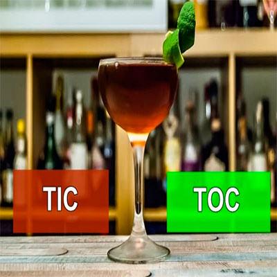 bebida con brandy tic toc